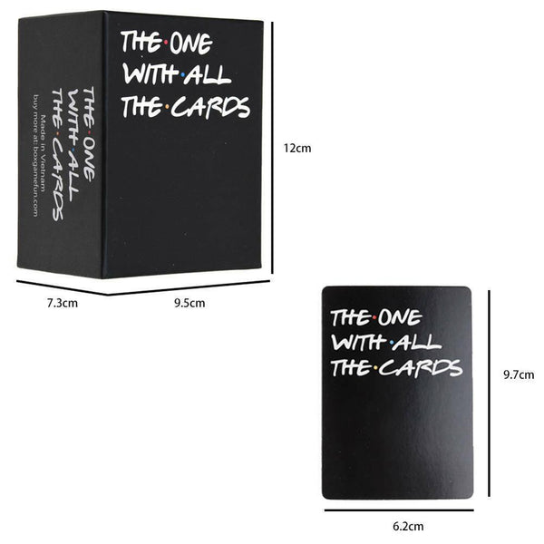 The One With All The Cards Game For Friend TV- Box Against The Friend, From U.S