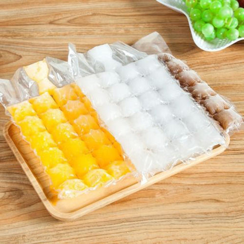 10pcs/pack self-made Sealing Tearable Ice Making Bag