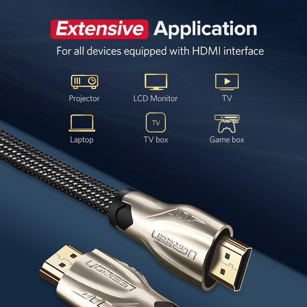 HDMI Cable 4K HDMI to HDMI 2.0 Cable Cord