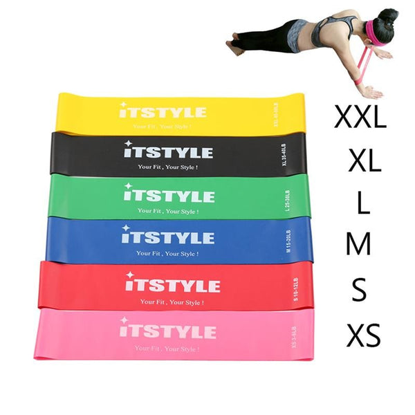 Resistance Bands 6 Levels Exercises Elastic Fitness