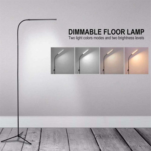 Modern Led Floor Lamp Dimming Toning