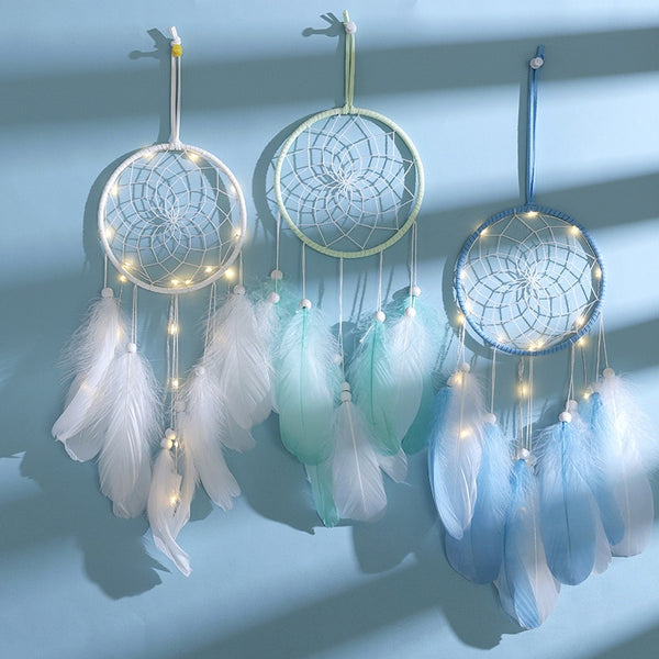 Belle Flower Dream Catcher Lights