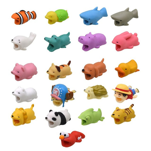 Cartoon Animal/USB Cable Protector Accessory