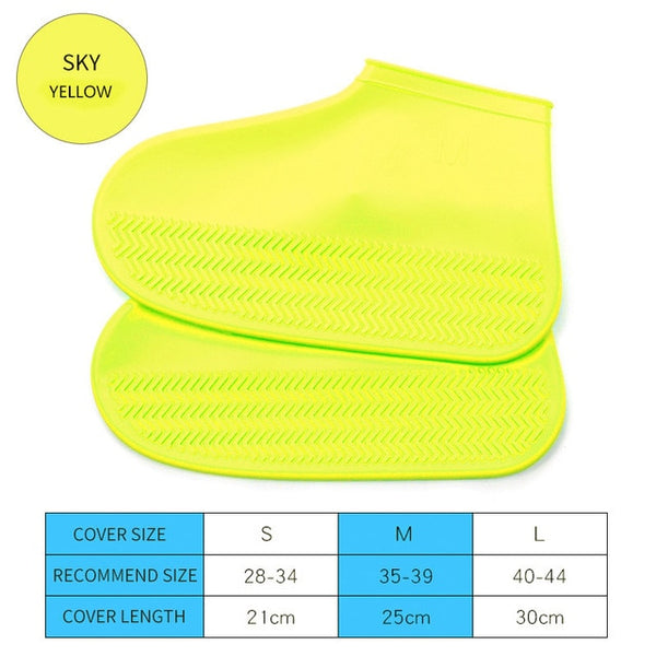 Silicone Rain Waterproof Shoe Covers