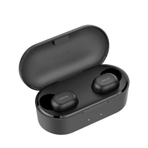 QS2 TWS Bluetooth V5.0 Headphones with Dual Microphone