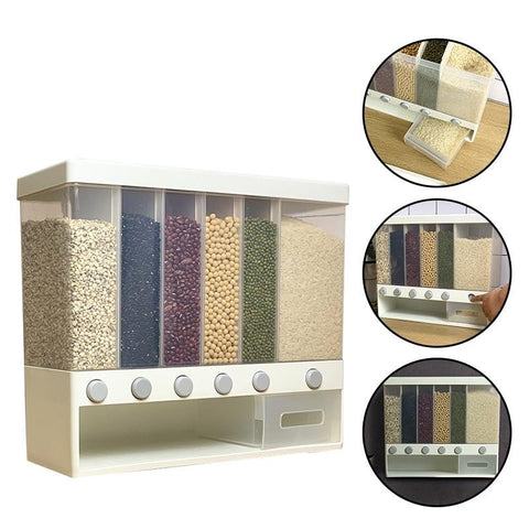 9-10L Wall-mounted Dry Food Dispenser