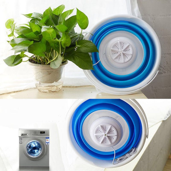 Portable Foldable Clothes Washer