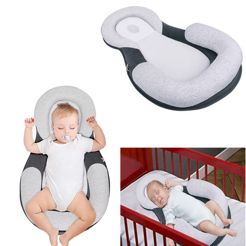 Anti Rollover Baby Bed