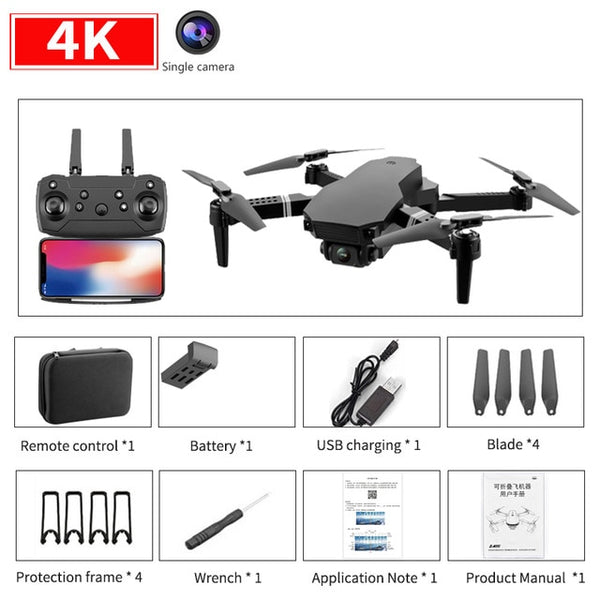 New S70 drone 4K HD dual camera foldable