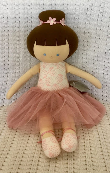 Alimrose Ballerina Strawberries Ivory doll