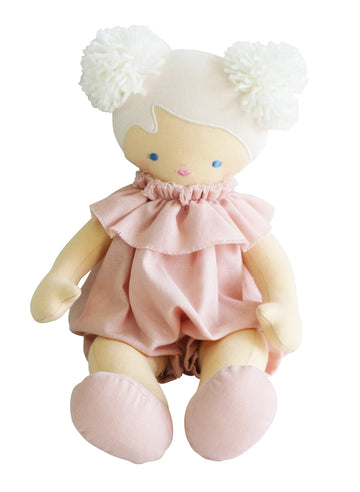 Alimrose Baby Lucy Pink Linen