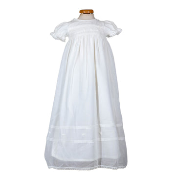 Smocked Cotton Gown