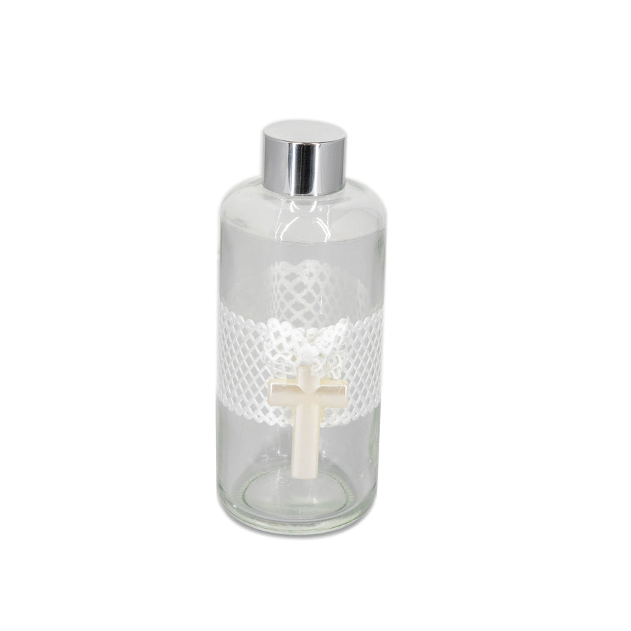 Oil Holy Water Bottle White