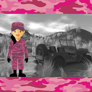Army Girl Pink