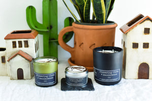 Flowering Clove + Sandalwood Candle