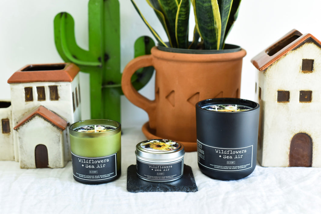 Wildflowers + Sea Air Candle