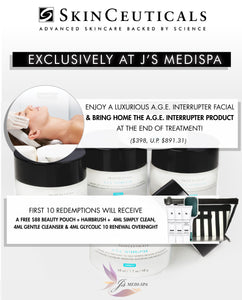 Complimentary A.G.E. INTERRUPTER Product with Purchase of Facial