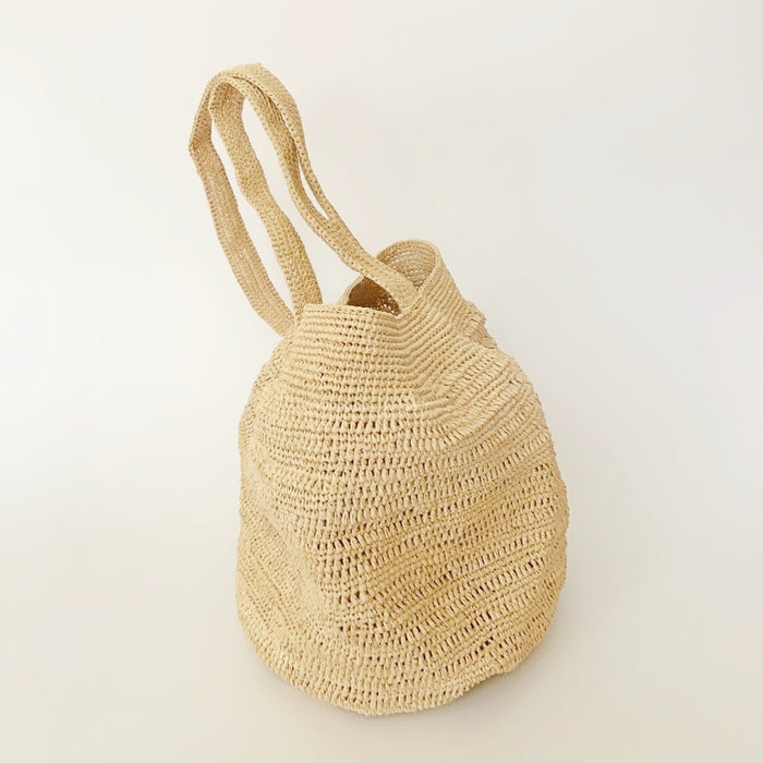 Raffia Potato Bag