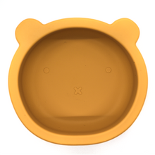 Load image into Gallery viewer, Chews Domi | Silicone Modern Bear Suction Bowl (Honey)