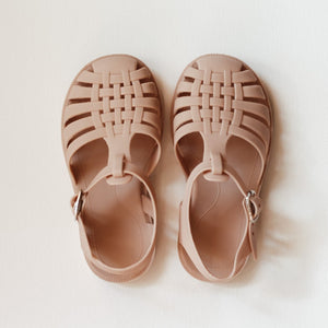 Matte Jelly Sandals (Rose)