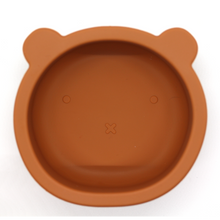 Load image into Gallery viewer, Chews Domi | Silicone Modern Bear Suction Bowl (Terra Clay)
