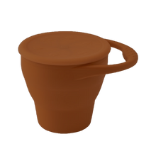 Load image into Gallery viewer, Chews Domi | Silicone Snack Cup in Terra Clay