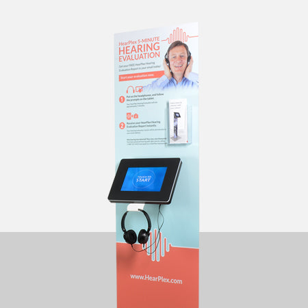 Surround your kiosk with branding.