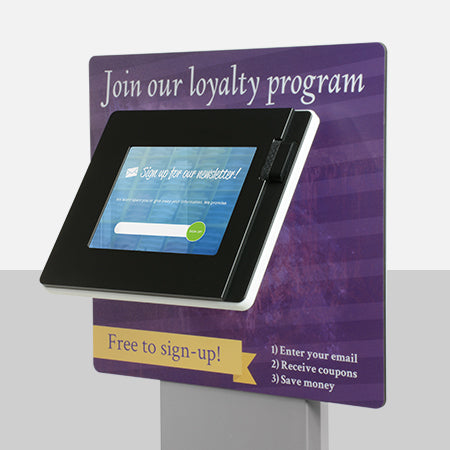 Add branding to your kiosk to make it your own.