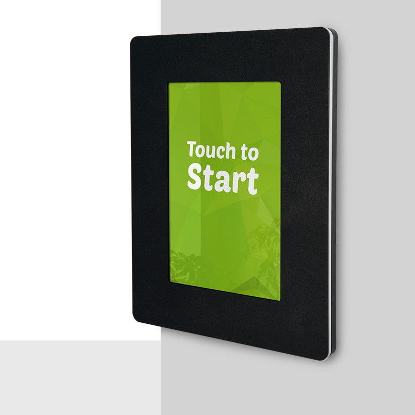 Wall Mount Android Tablet Enclosure for Digital Signage | iPadKiosks.com