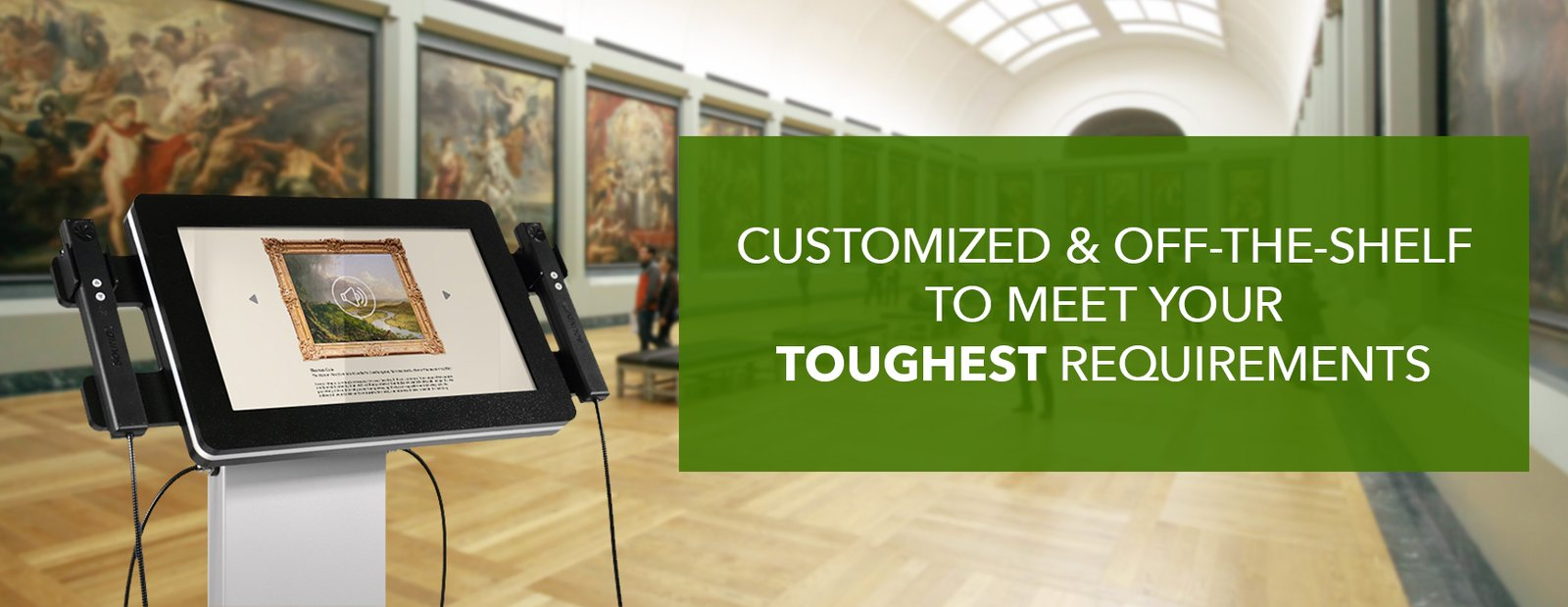 Improve visitor interaction with an accessory.