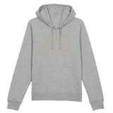 Men´s Geo Lung Hoodie (small logo)