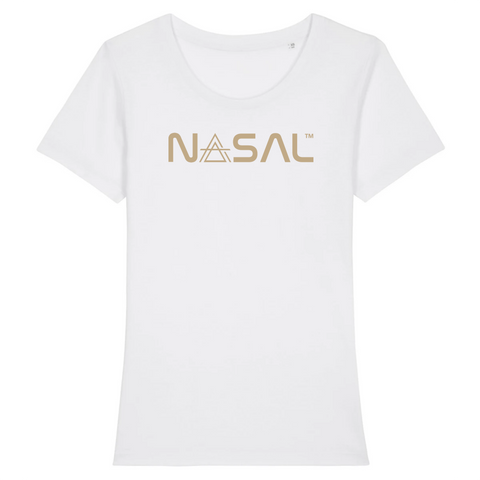 "Women´s Nasal ""OG"" T - Shirt (Gold logo)"