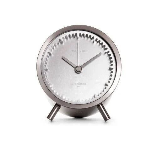 LEFF Amsterdam | Tube Clock Staal