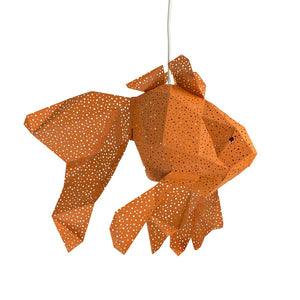 Vasili Lights | DIY set papieren lamp Fish oranje