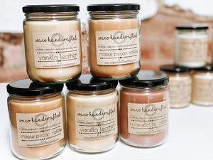 Signature 16 oz Candle - MANY SCENT OPTIONS! - Waco Handcrafted