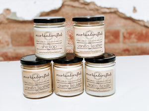 Signature 9 oz Candle - MANY SCENT OPTIONS! - Waco Handcrafted