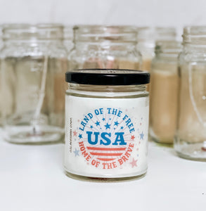 Home of the Brave Scented Candle | 9 oz or 16 oz | Novelty Candle
