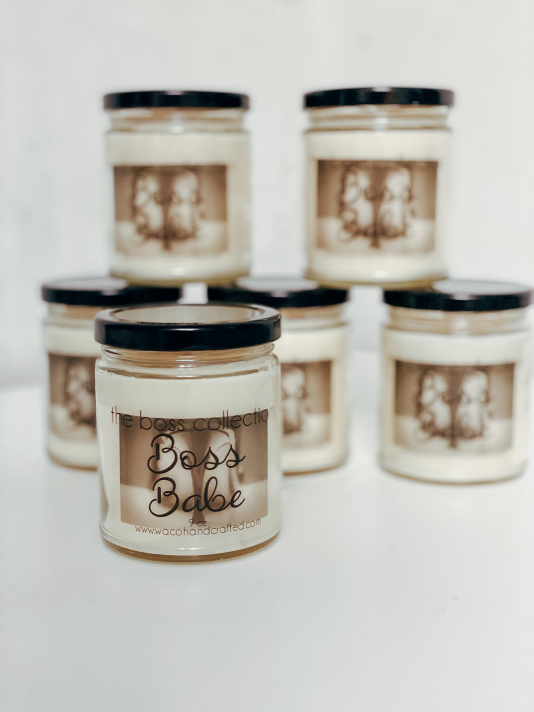 Boss Babe 9 oz Scented Candle - Waco Handcrafted