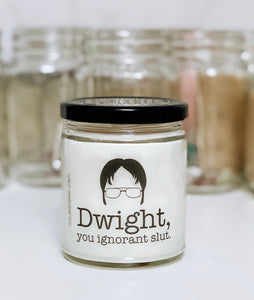 The Office Dwight Scented Candle | 9 oz or 16 oz |