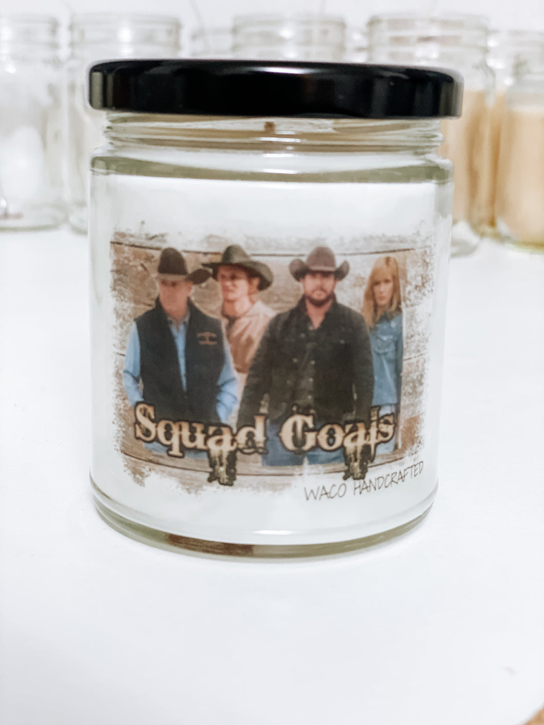 Yellowstone Squad Goals Scented Candle | 9 oz or 16 oz |