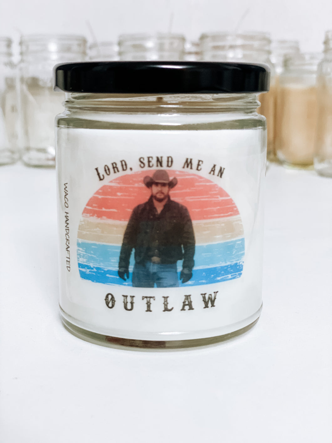 Yellowstone Send Me an Outlaw Scented Candle | 9 oz or 16 oz |