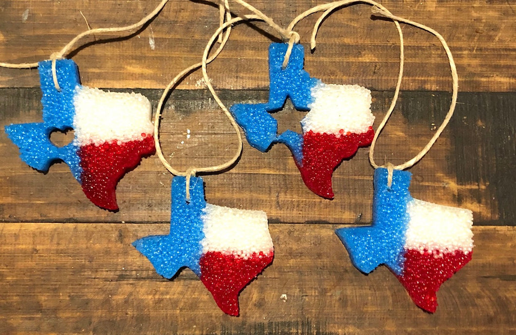 Texas Patriotic Car Freshie | Choose Scent
