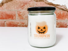Load image into Gallery viewer, 2020 HOLIDAY COLLECTION | TRUMPKIN | HALLOWEEN NOVELTY CANDLE