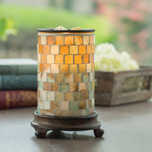 Load image into Gallery viewer, Sea Glass Illumination Wax Warmer
