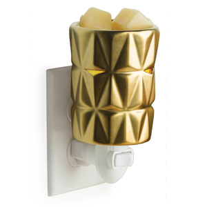 Gold Facets Pluggable Wax Warmer