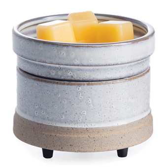 Rustic White 2-In-1 Wax Warmer