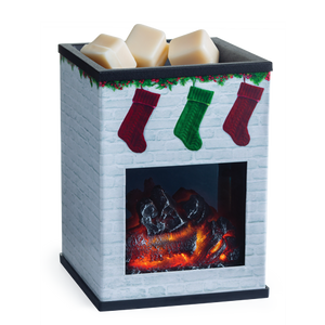 Holiday Fireplace Illumination Wax Warmer