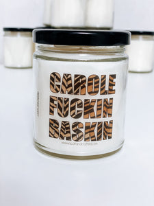 Carole Fuckin Baskin Scented Candle | 9 oz or 16 oz | Novelty Candle - Waco Handcrafted