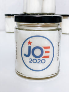 Joe 2020 Scented Candle | 9 oz or 16 oz | Novelty Candle - Waco Handcrafted
