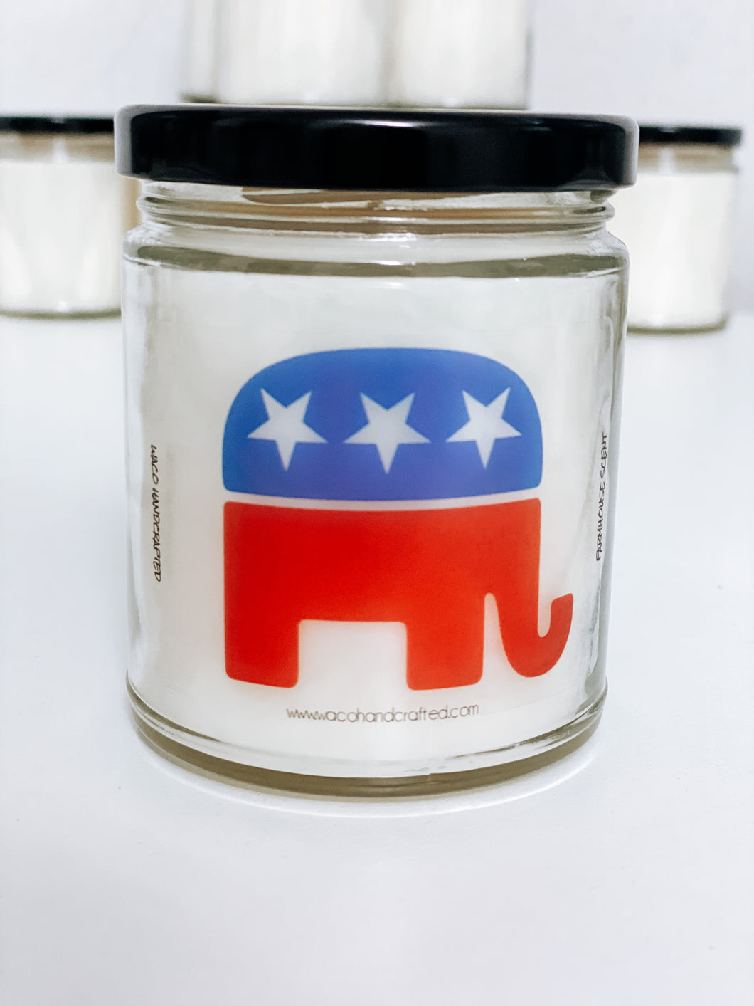 Republican Scented Candle | 9 oz or 16 oz | Novelty Candle - Waco Handcrafted